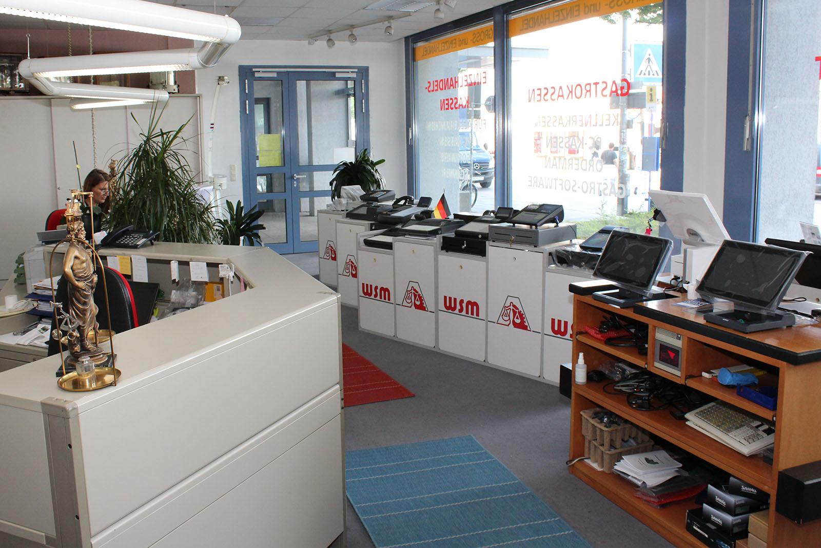 Ausstellung Kassensysteme